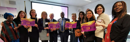 We marked the International Day of Zero Tolerance for FGM with the World Health Organisation!