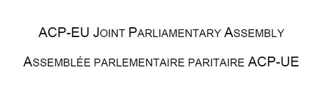 Oral Parliamentary Question during the 34th session of the ACP-EU Joint Parliamentary Assembly