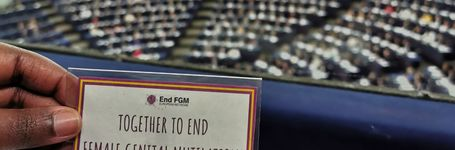 The European Parliament says YES to a strategy to end FGM!