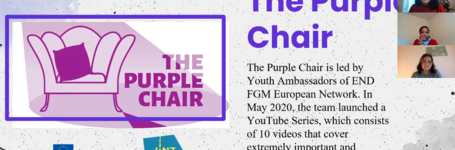 The Purple Chair - Closing event and national launches